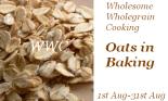 oats in bakig
