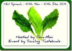 HLI Spinach Nov 2011