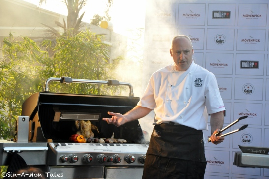 That's the Chef, good looking isn't it ;)