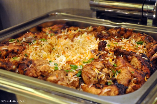 Arabic Style Mutton Biryani