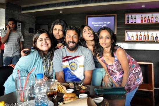 and yes like Swapna says the joke was on her *runs away* Pic Credit - Sudhakar