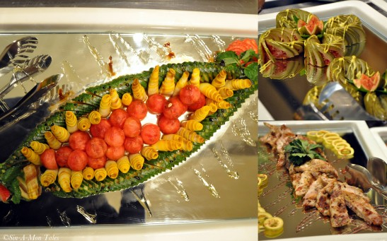 The salads - loved the seasoning and the innovative plating