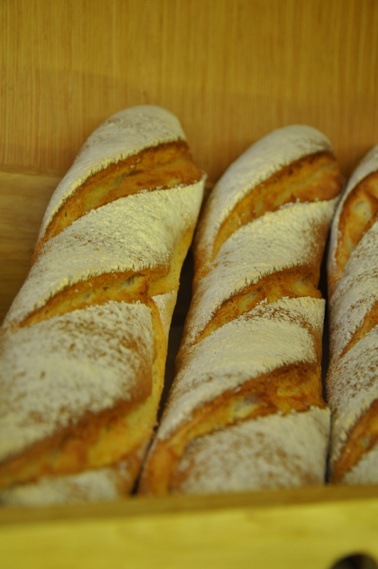 And some breads