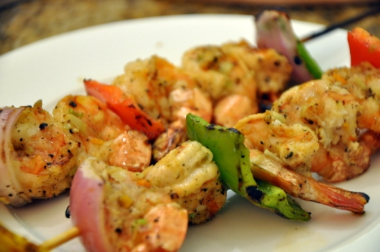 We tried the lemon prawns and they were fabulous...