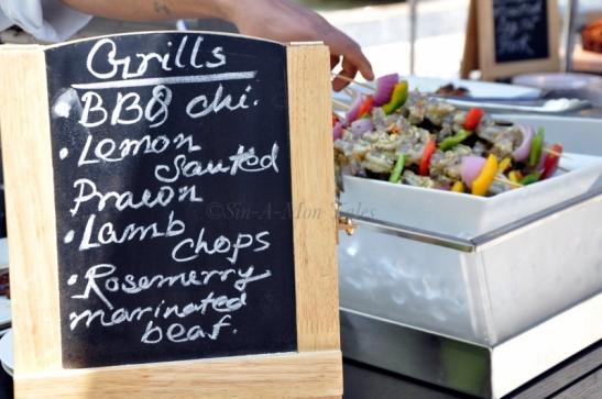 The grill menu