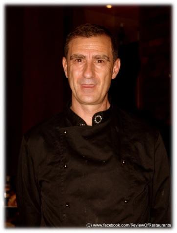 Chef Fabio Colace , Picture Credit Nitin