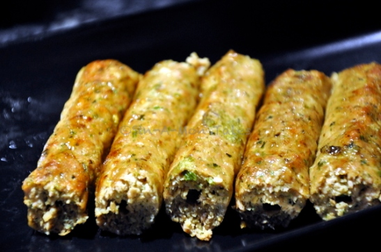 Seekh Kabab, I love the texture of this, not really mushy like you usually get