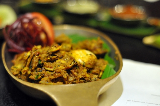 Tissryo Sukke : Clams cooked with fresh coconut and goan spices.