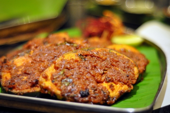 Syrian Meen Road - King Fish marinated with Syrian speciality masala and grilled.