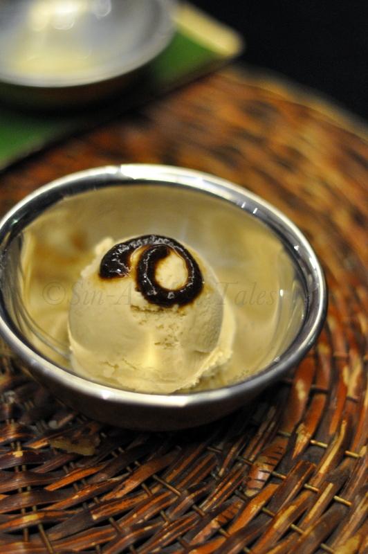 Tamarind icecream - yumm, loved the tang