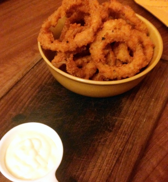 Onion Rings - the kids loved this one and errr the adults too