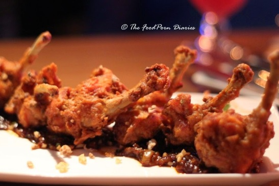 Chicken drumstick, just as they are usually