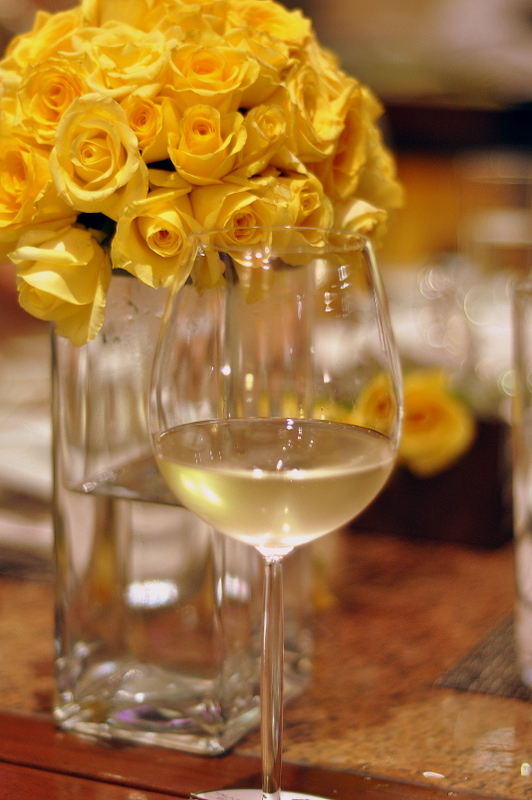 Doesn't the roses and wine look lovely together
