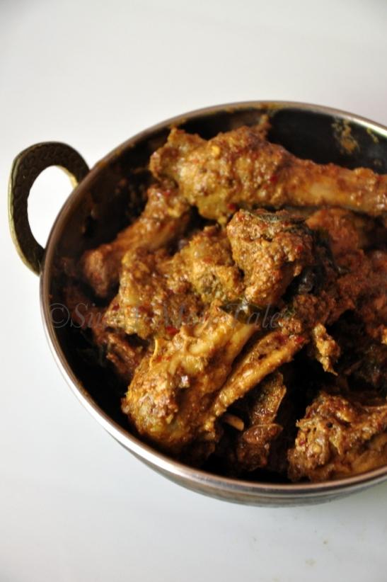 Kundapur Chicken Ghee Roast