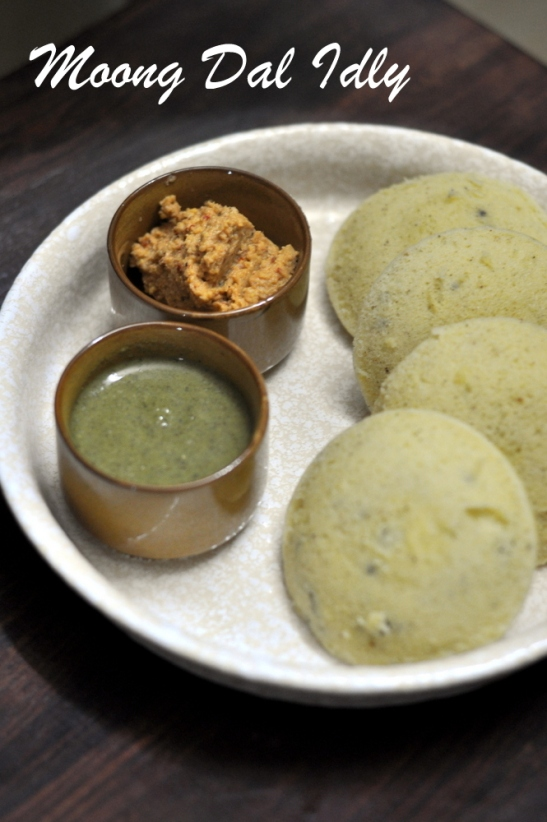 Moong Dal Idly