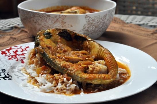 Chettinad Fish Curry 2