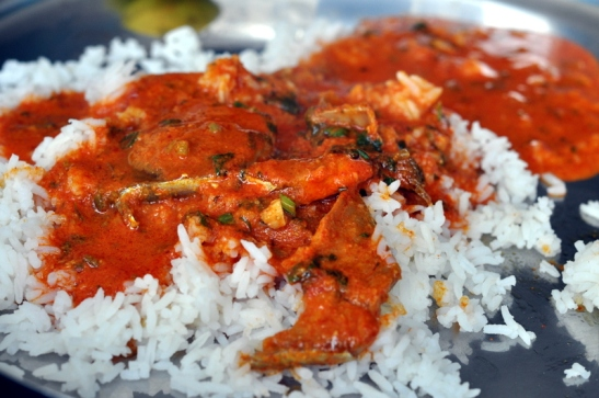 Fish Curry at Suryawanshi