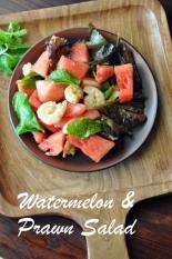Watermelon Prawn Salad